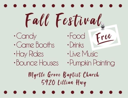 MGBC – Fall Festival